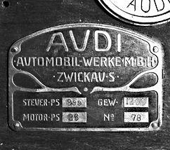 logo Audi Werke 1909